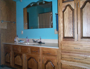 Southern Illinois Cabinet Refinishing Repair on
