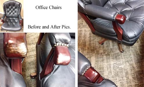St. Clair County commercial furniture refinishing